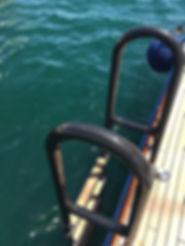 Carbon swimm ladder