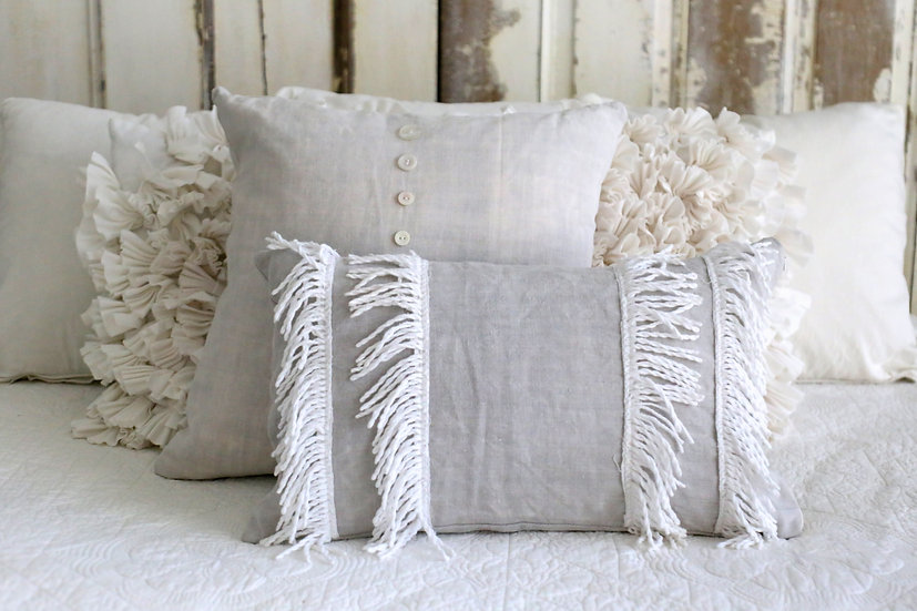Fringe Pillow slip