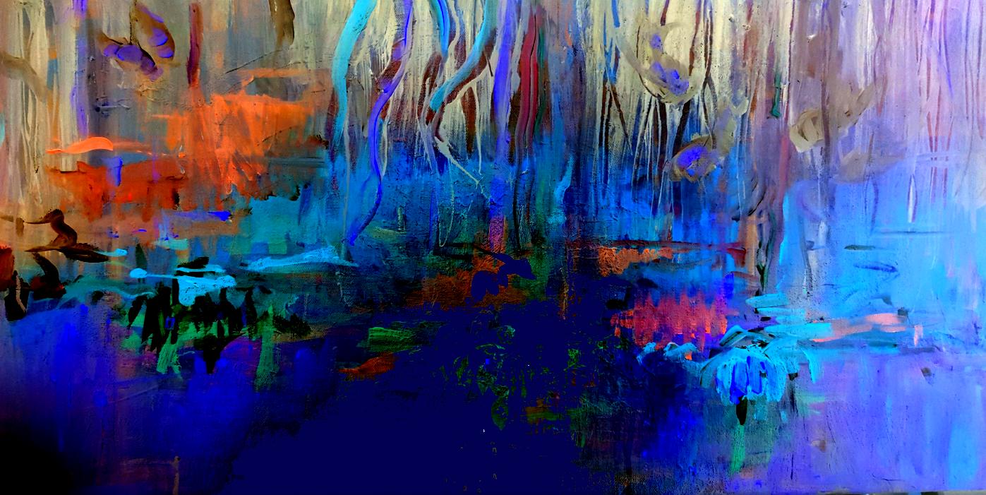 Nightly Pond