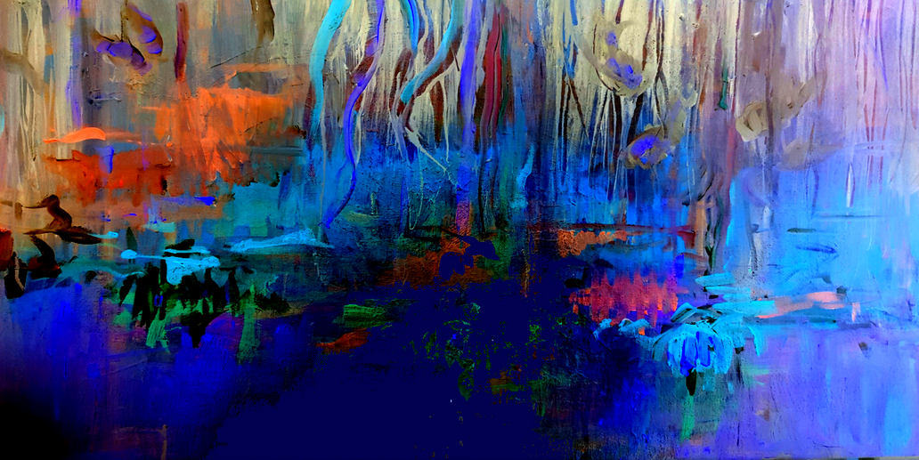 Nightly Pond