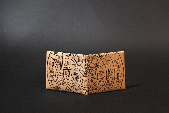 Leather Wallet, Phaistos Disc