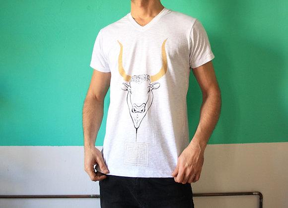 Minotauros, T-shirt V-neck