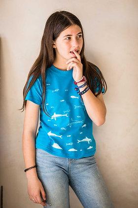 Minoan Dolphins, T-shirt kids