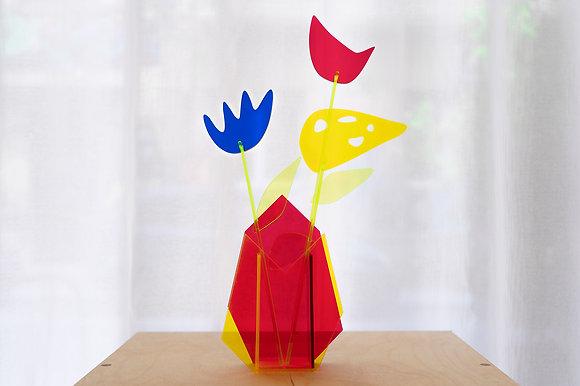 Calder Flowers & Vase Set