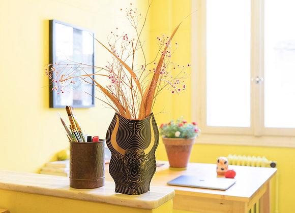 Leather Wrapped Vase, The Minotaur
