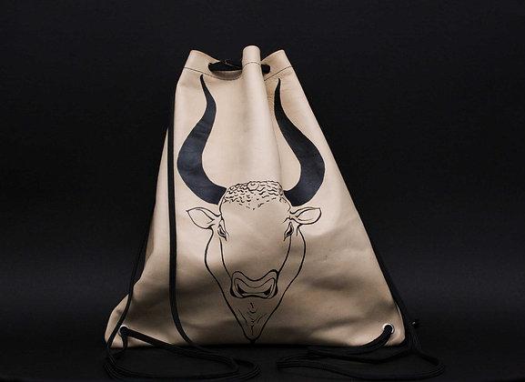 Leather Backpack / Shoulder Bag, Minotaur