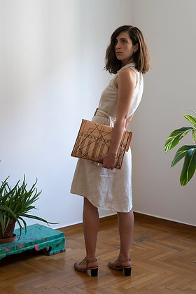 Leather Pouch Envelope Large, Golden Ratio