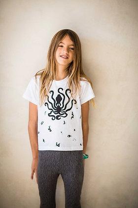 Octopus, T-shirt kids