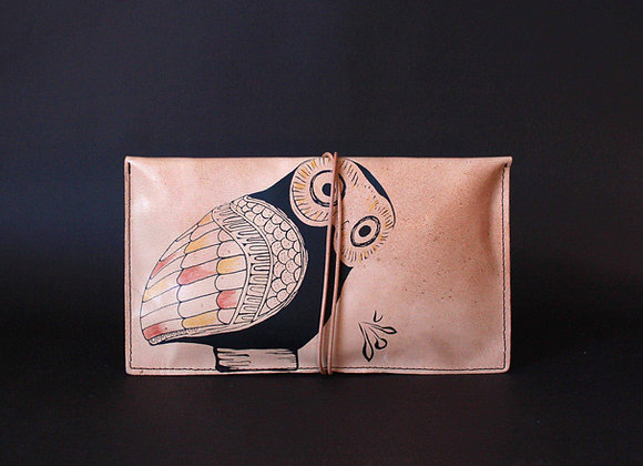 Purse Clutch (envelope), Glaucus (Owl of Athens)