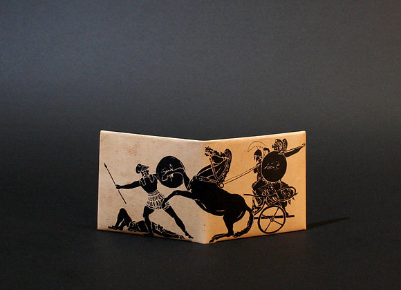 Leather Wallet, The Greek Wars