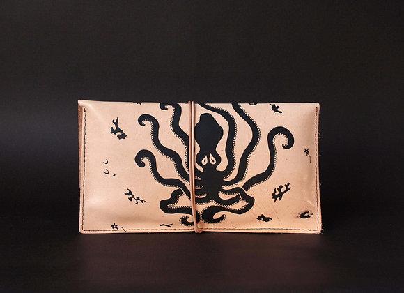 Purse Clutch (envelope), Minoan Octopus