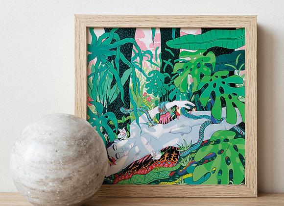 Jungle N. 3B, Poster.