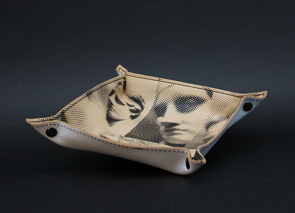 Leather Tray / Vide Poche, Aphrodite & Diadoumenos.