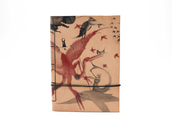 Leather Journal Notebook A5, The Garden of Earthly Delights