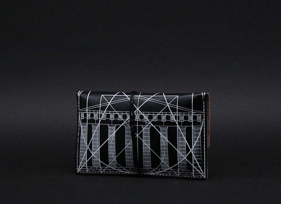 Leather pouch purse, Golden Ratio
