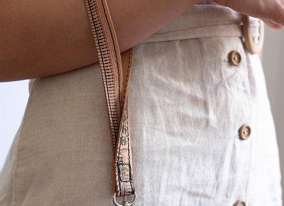 Leather Wrist Keychain, Geometrical Period