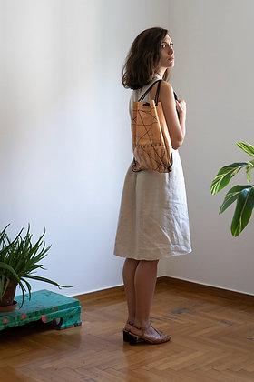 Leather Backpack / Shoulder Bag, Golden Ratio