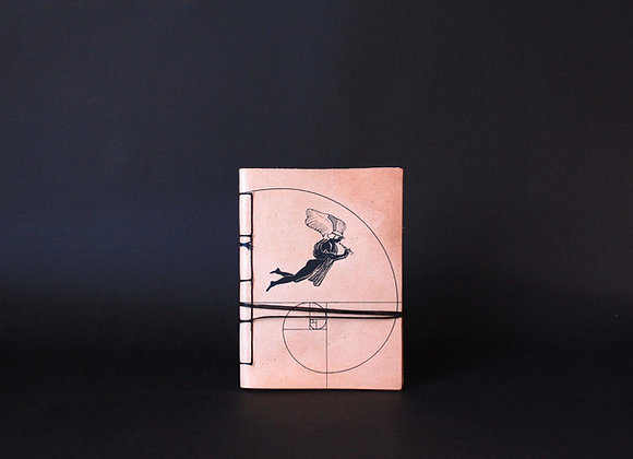 Eros & Satyr, Leather Notebook A6