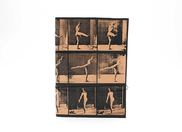 Leather Journal Notebook A5, Zoopraxiscope