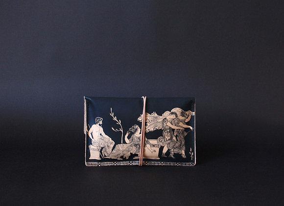 Leather Portfolio Small, The Abduction of the Daughters of Leucippus