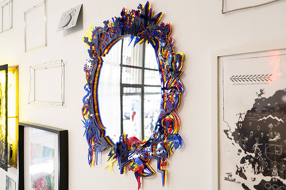 Echo, Acrylic Mirror by Zacharias Petrakis