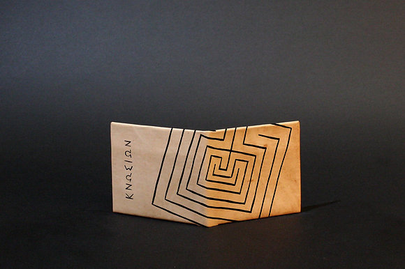 Leather Wallet, Knossos Labyrinth