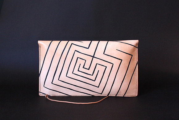 Purse Clutch (envelope), Knossos Labyrinth