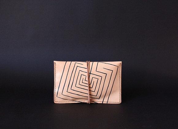 Leather Portfolio Small, Knossos Labyrinth