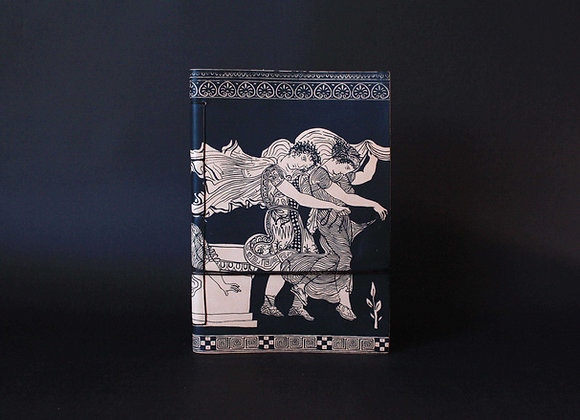 Leather Journal Notebook A5, The Abduction of the Daughters of Leukippos,