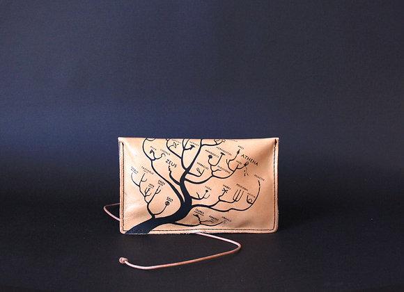 Leather Portfolio Small, Genealogical Tree of Gods