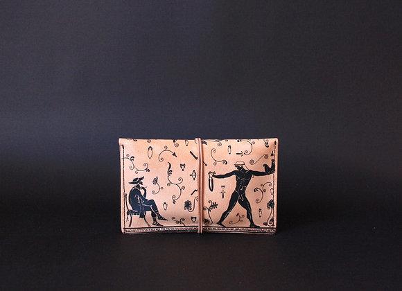 Leather Portfolio Small, Ganymedes & Oedipus
