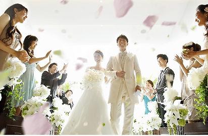 結婚したい 新潟 婚活 結婚相談所 西蒲区 燕三条 二人 結婚式 ウエディングドレス ブーケ フラワーシャワー ハッピー マリッジ