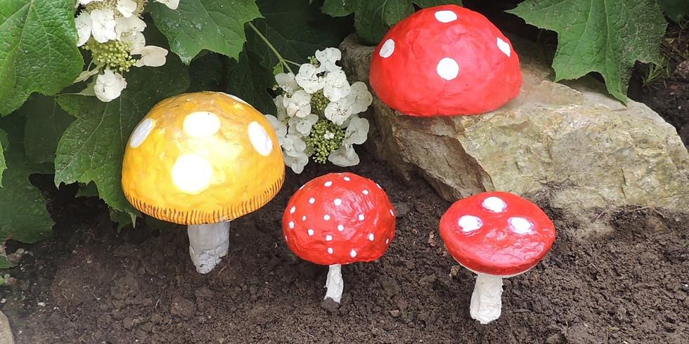 Creanamiddag Deerlijk: paddenstoelen