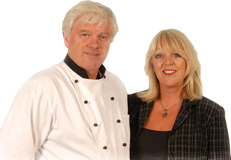 Bay Tree Caterers owners Julie and Sheldon Hinkins