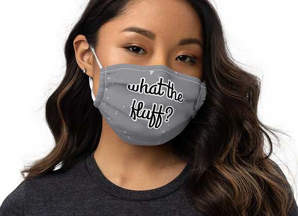 What the Fluff Face Mask (Gray)