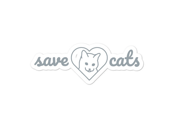 Save Cats Sticker