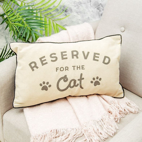 Reserved for the Cat Cushion // Sass & Belle