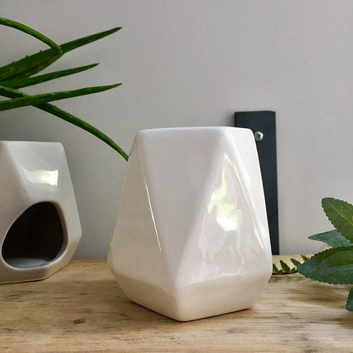 White Geo Oil/Wax Burner