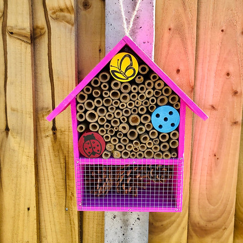 Hot Pink Insect Hotel