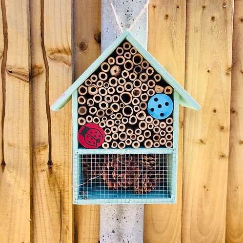 Mint Green Insect Hotel