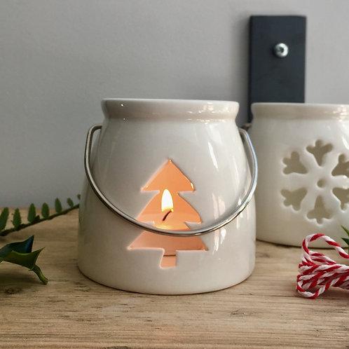 Ceramic Tree Tealight Holder