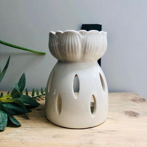 Ceramic Lotus Flower Wax/Oil Burner