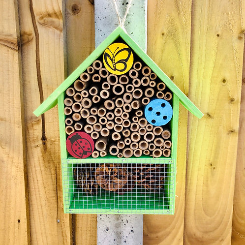 Bright Green Insect Hotel