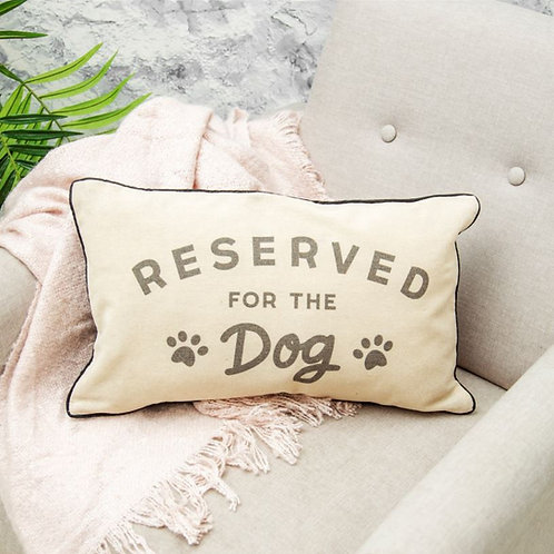 Reserved for the Dog Cushion // Sass & Belle