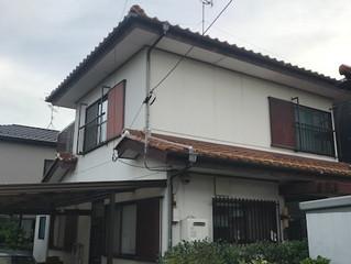名古屋市中川区外壁塗装工事開始