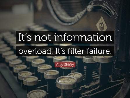 Information is food is information