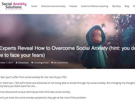How to overcome social anxiety.