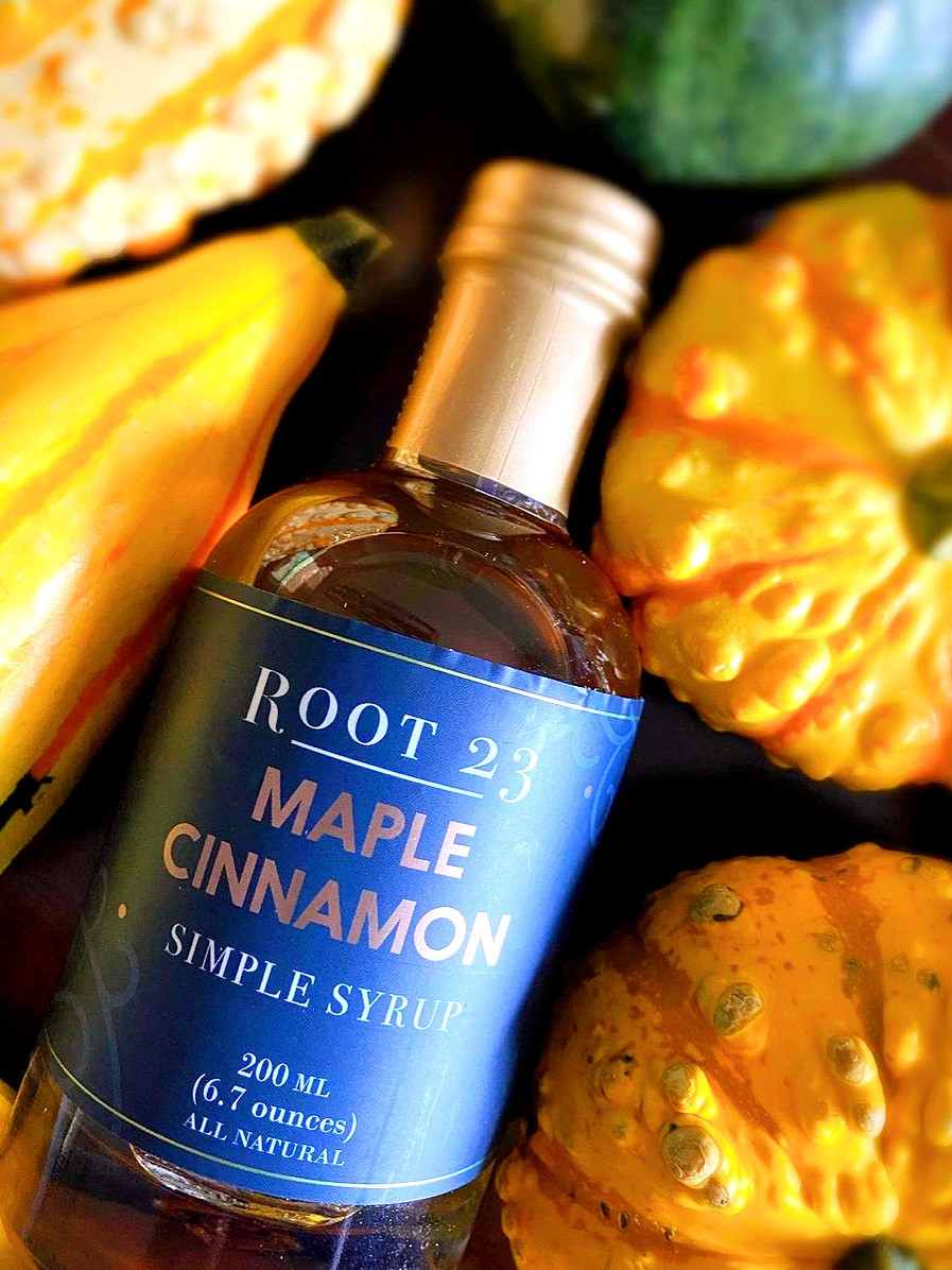 Root 23  Maple Cinnamon Simple Syrup   $10