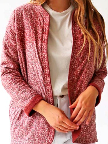 Marceline   Reversible Wool Jacket
