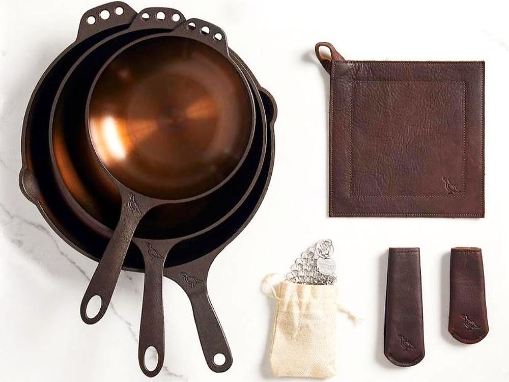 Smithey Ironware 7-Piece Chef Set   $499